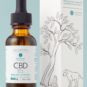 Bundle & Save: 3 Large CBD Pet Tinctures (3 x 600mg)