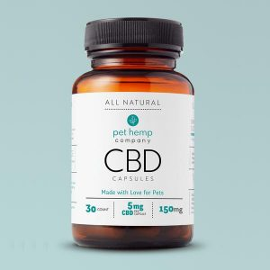 CBD Capsules 150mg Front View Bottle