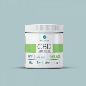Calming Treats For Dogs: CBD Soft Chews – RELAX – Peanut Butter & Sweet Potato