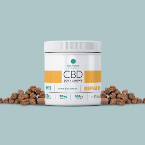 Repair Treats For Dogs: CBD Soft Chews – REPAIR – Apple & Pumpkin
