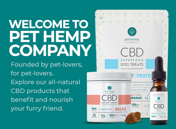 Welcome to Pet Hemp Company All Natural CBD Products